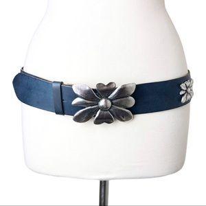 Antoniazzi Firenze | Italian Leather Flower Belt